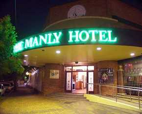 The Manly Hotel - Accommodation Georgetown