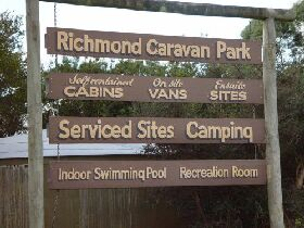 Richmond Cabin  Tourist Park - Accommodation Georgetown