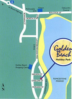 Golden Beach Holiday Park - Accommodation Georgetown