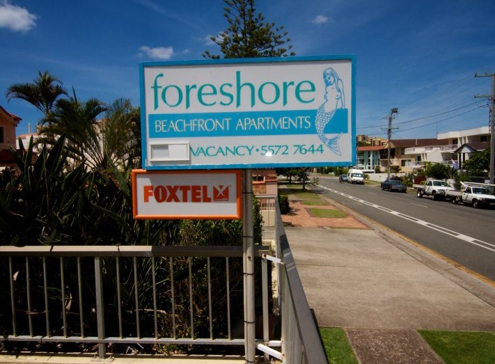 Foreshore Apartments Mermaid Beach - Accommodation Georgetown