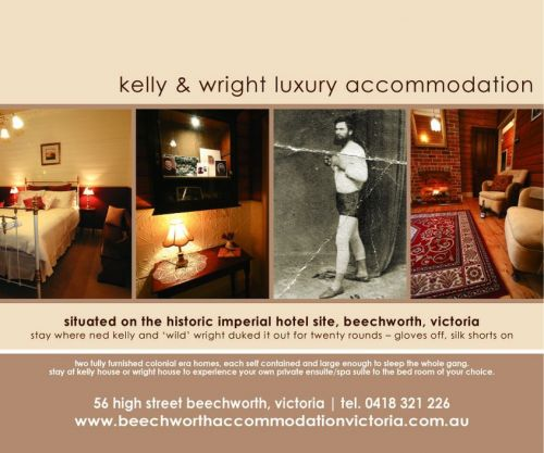 Beechworth Accommodation Victoria - Accommodation Georgetown