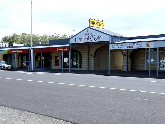 Gin Gin Central Motel - Accommodation Georgetown