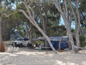 Moreton Island National Park and Recreation Area camping - Accommodation Georgetown