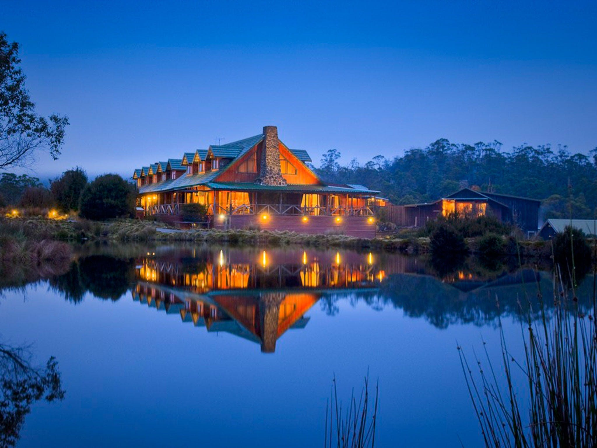 Peppers Cradle Mountain Lodge - Accommodation Georgetown