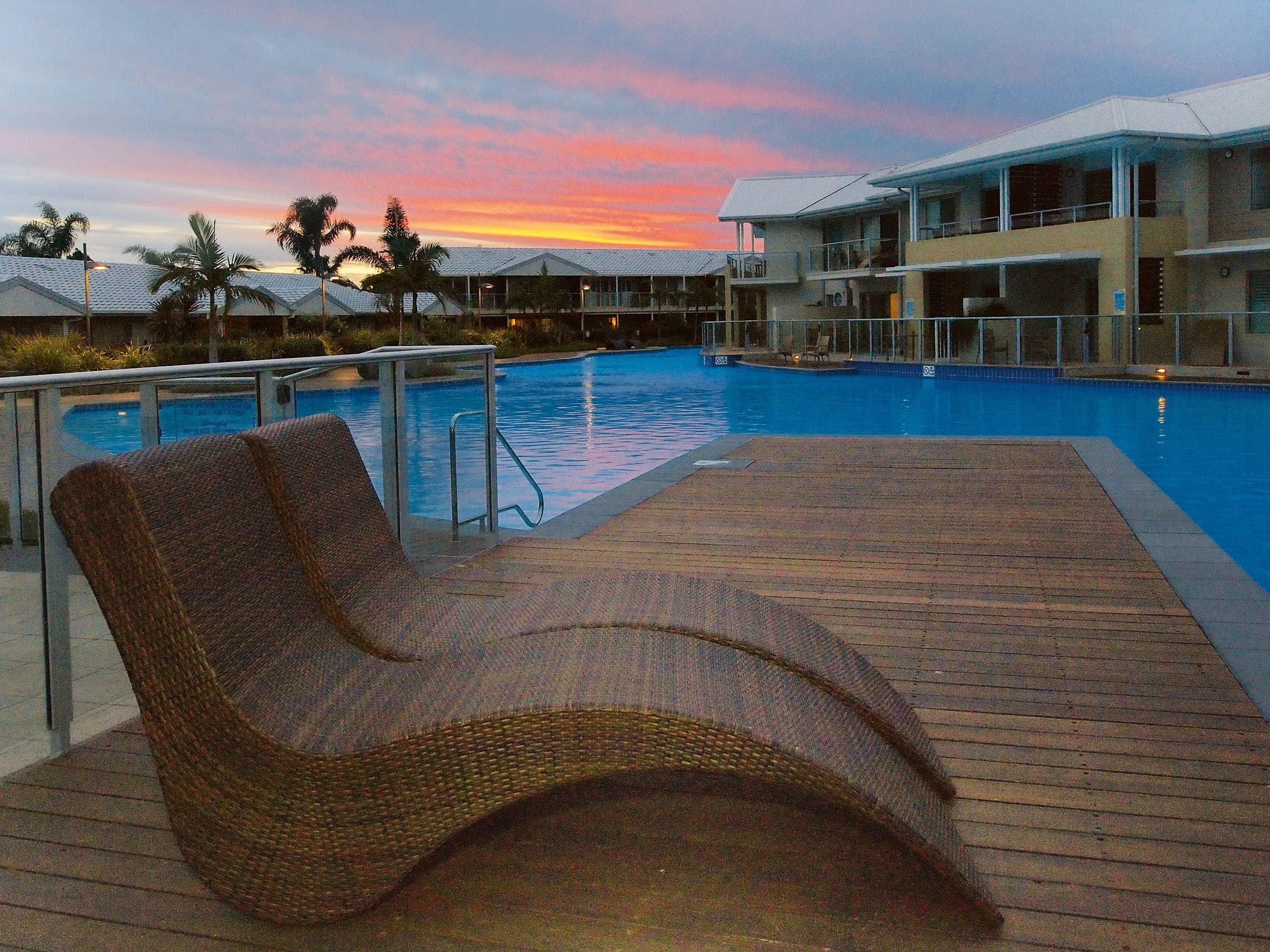 Oaks Port Stephens Pacific Blue Resort - Accommodation Georgetown