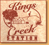 Kings Creek Station - Accommodation Georgetown
