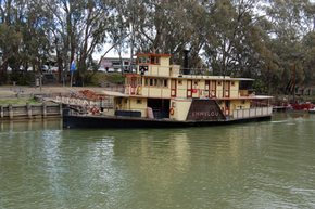Emmylou Paddle Steamer - Accommodation Georgetown
