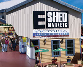 The E Shed Markets - Accommodation Georgetown