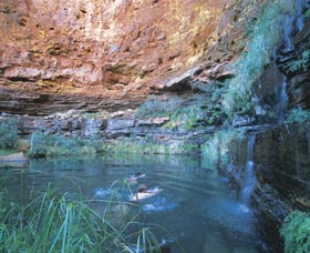 Dales Gorge and Circular Pool - Accommodation Georgetown