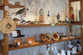 Touchwood Craft Gallery Gifts and Cafe - Accommodation Georgetown