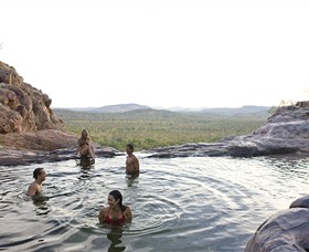 Gunlom Plunge Pool - Accommodation Georgetown