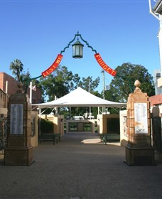 Gympie and Widgee War Memorial Gates - Accommodation Georgetown