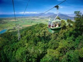 Skyrail Rainforest Cableway - Accommodation Georgetown