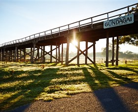 Historic Bridges of Gundagai - Accommodation Georgetown