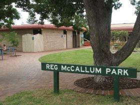 Reg McCallum Park - Accommodation Georgetown
