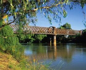 Narrandera Rail Bridge - Accommodation Georgetown