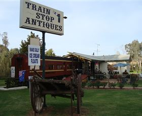 Train Stop Antiques - Accommodation Georgetown