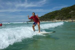 Rainbow Beach Surf School 2 Hour Main Beach Surf Lesson - Accommodation Georgetown