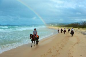 Rainbow Beach Horse Ride - Accommodation Georgetown