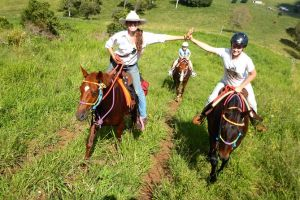 Country Day Ride from Mt Goomboorian with Rainbow Beach Horse Rides - Accommodation Georgetown