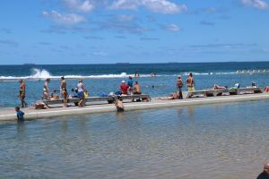 Merewether Ocean Baths - Accommodation Georgetown