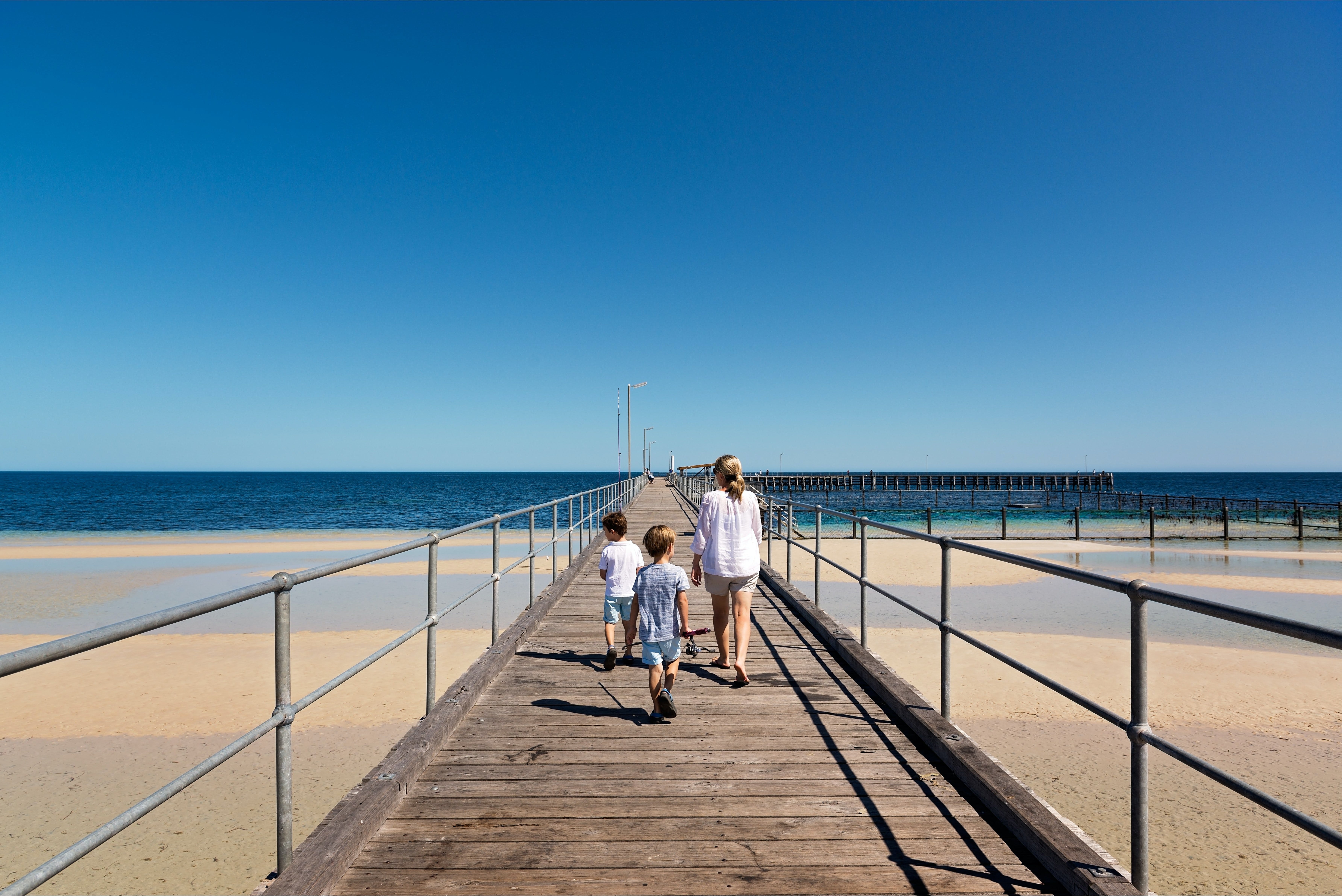 Moonta Bay Jetty - Accommodation Georgetown