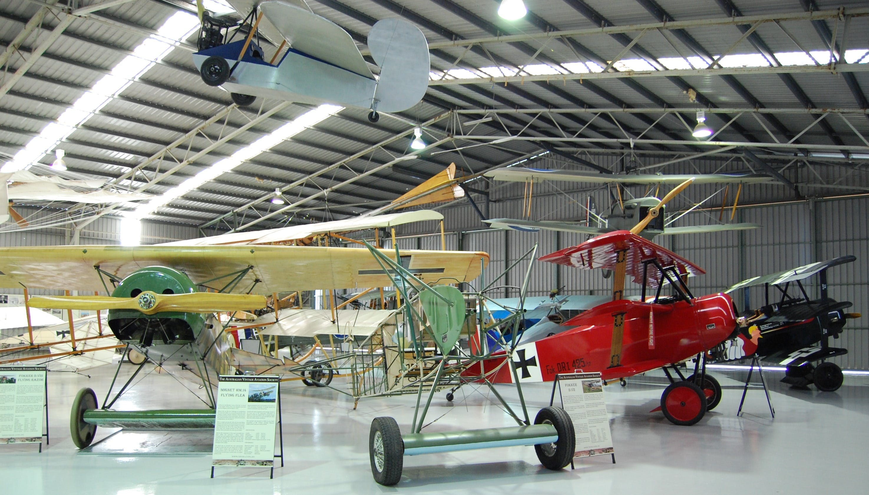 The Australian Vintage Aviation Society Museum - Accommodation Georgetown