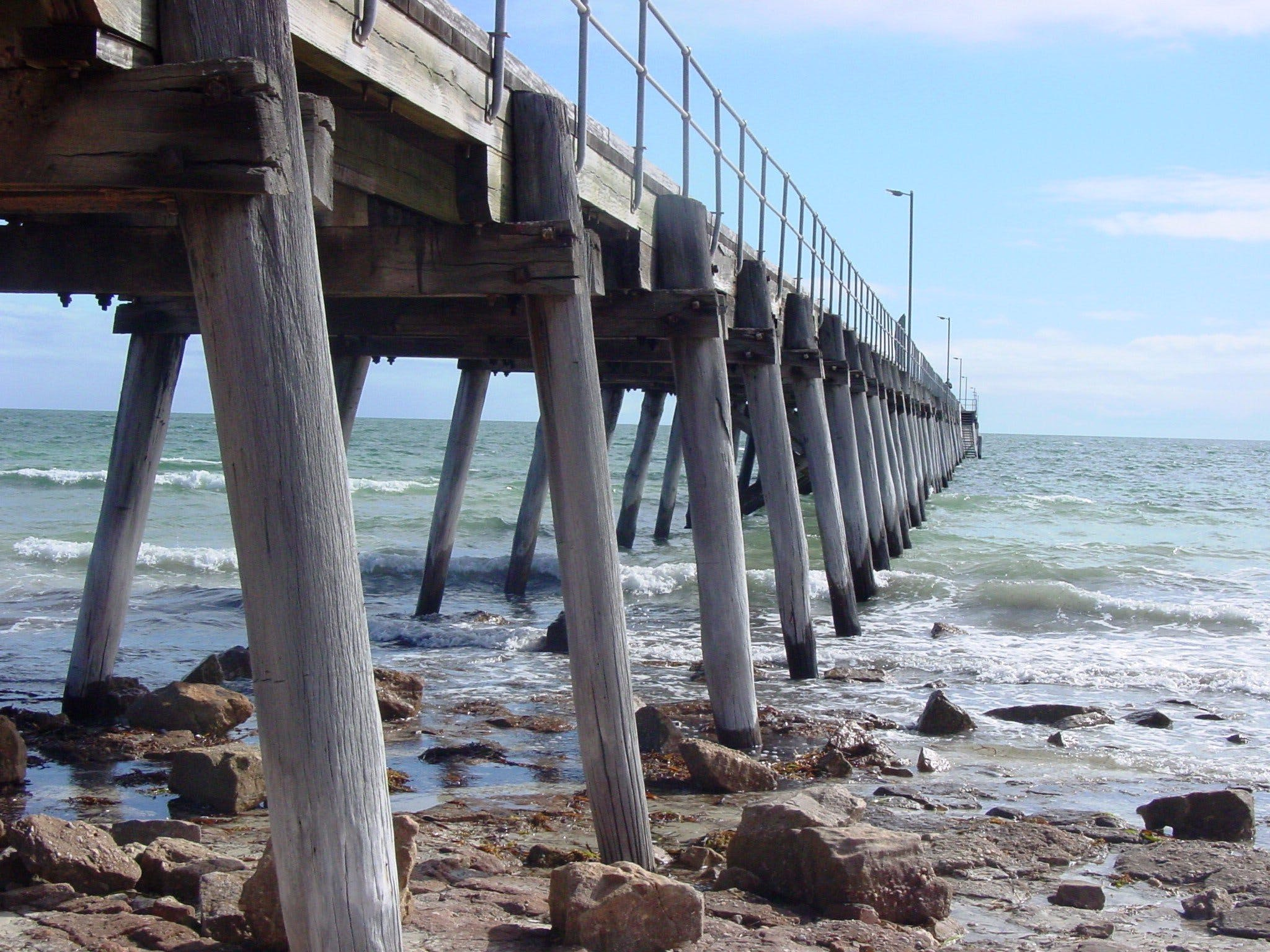 Port Hughes Jetty - Accommodation Georgetown