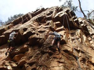 Rock Climbing in Morialta - Accommodation Georgetown