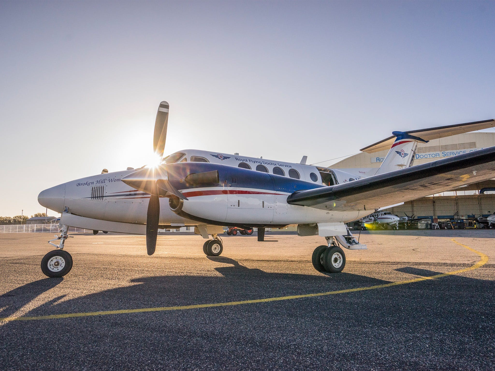 The Royal Flying Doctor Service Outback Experience in Broken Hill - Accommodation Georgetown