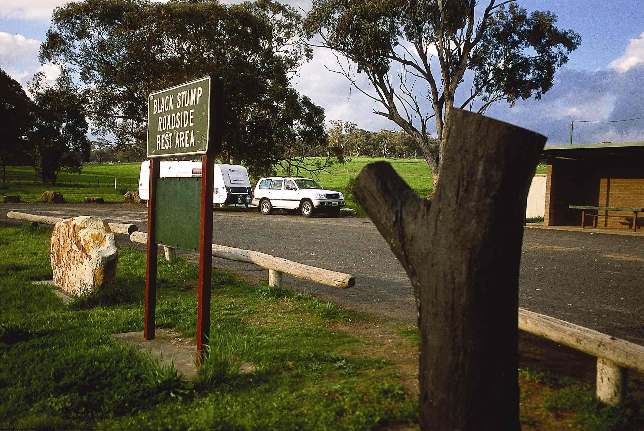 Black Stump Rest Area - Accommodation Georgetown