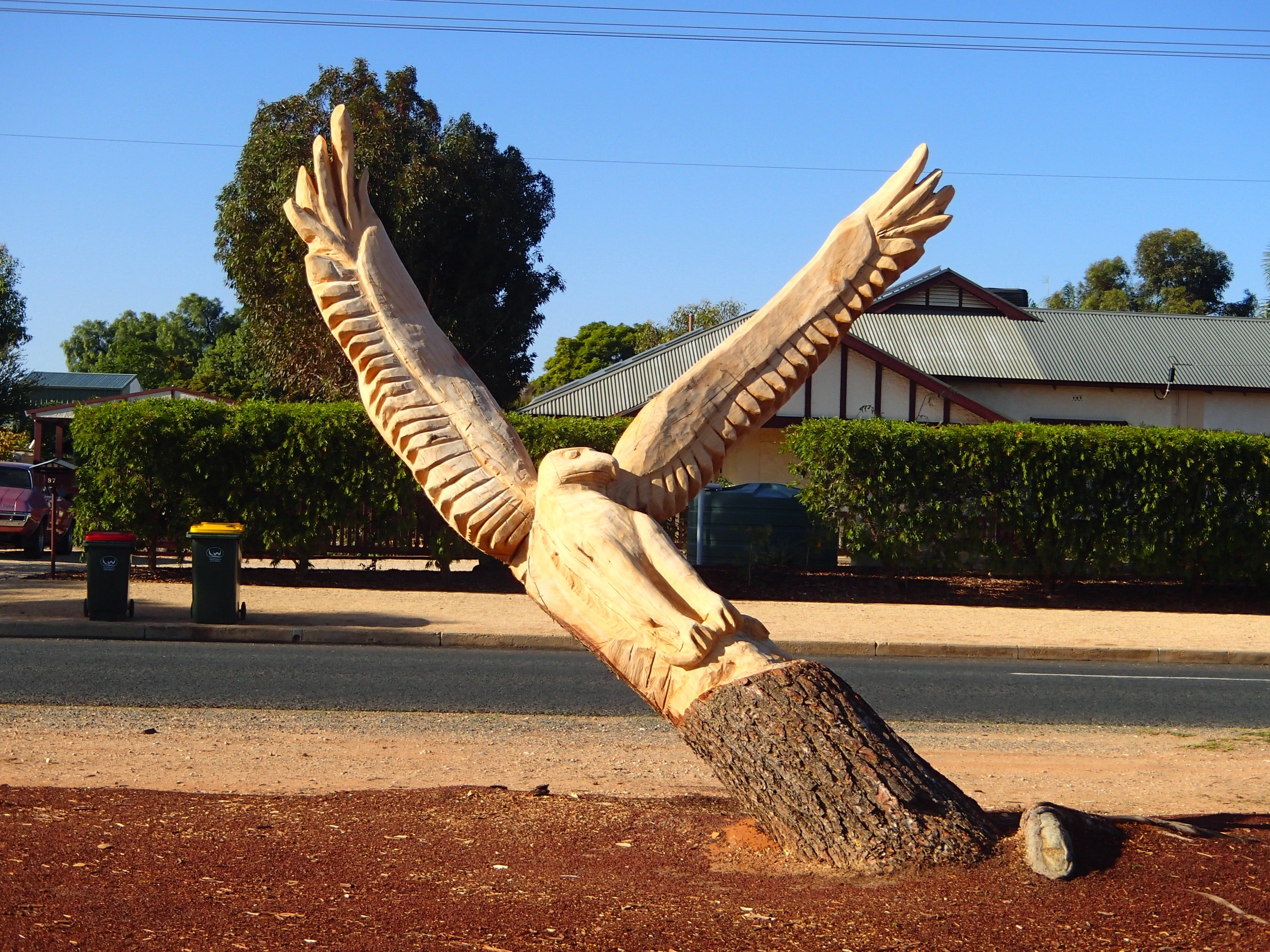 Loxton Tree sculptures - Accommodation Georgetown