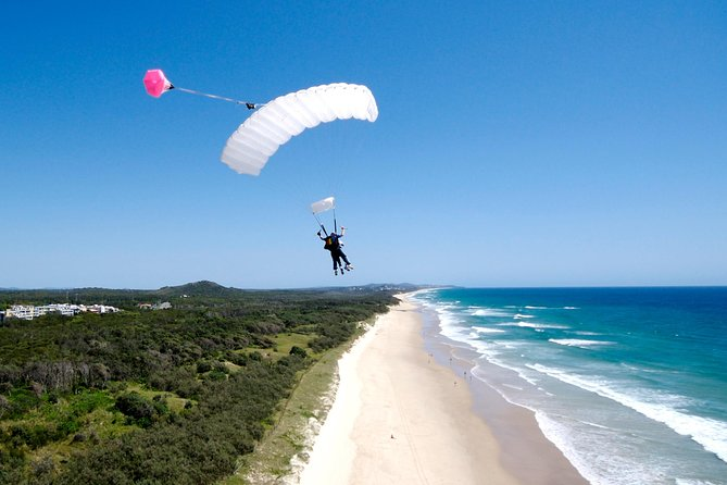 Skydive over Sunshine Coast with Beach Landing - Accommodation Georgetown
