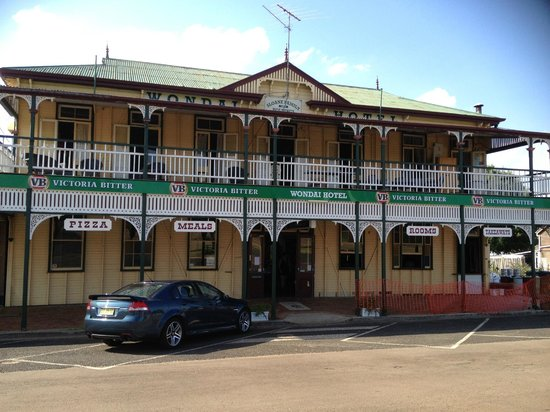 The Wondai Hotel  Cellar - Accommodation Georgetown