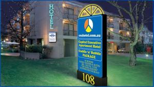 Capital Executive Apartment Hotel - Accommodation Georgetown