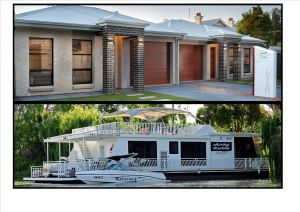 Renmark River Villas and Boats  Bedzzz - Accommodation Georgetown
